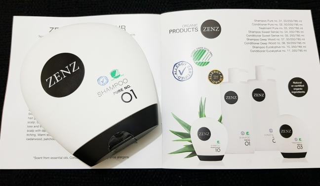 Narah Zenz Organic sampon pure no 01