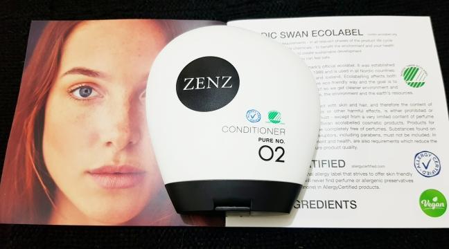 Narah Zenz Organic Conditioner Pure no 2