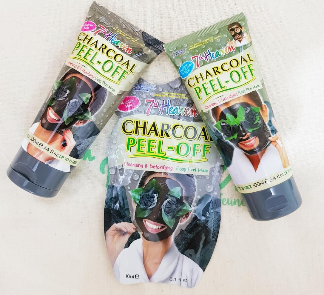 Charcoal Peel-Off Mask 7th heaven