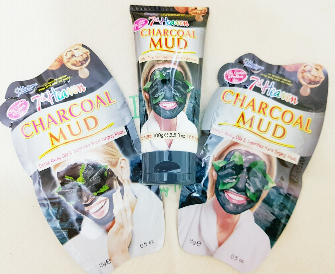 Charcoal Mud Mask 7th heaven
