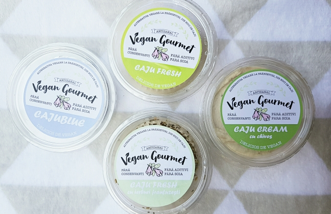 Vegan Gourmet vegan cruelty-free nuci de caju brânză vegană  alternativă produse traditionale