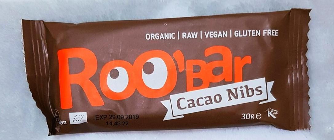 Roobar cacao nibs roobar gluten free