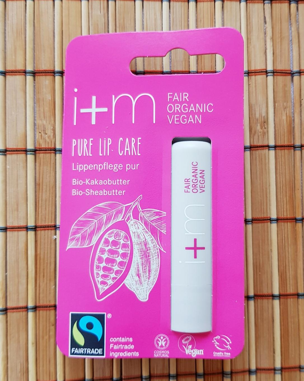 Balsam de buze Pure Lip Care - i+m Naturkosmetik vegan și cruelty-free narah