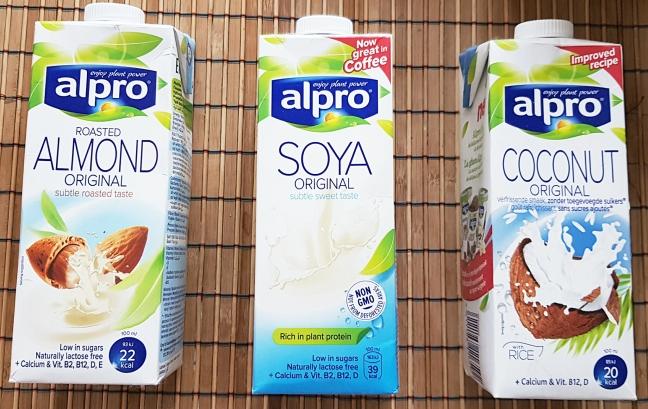 Lapte alpro lapte vegan lapte vegetal soia cocos migdale