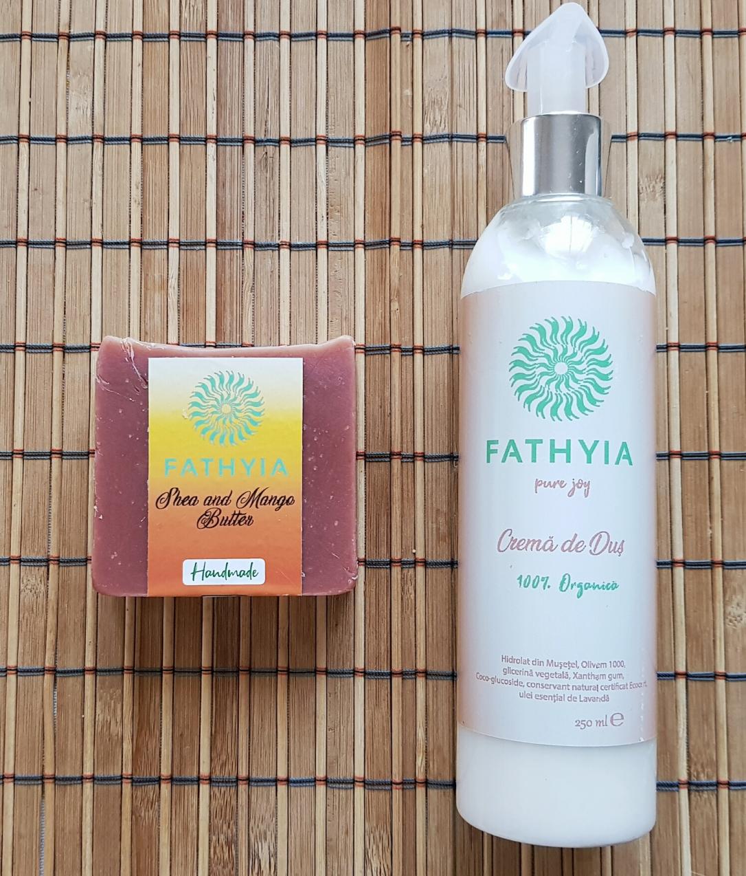 FATHYIA crema de dus sapun solid