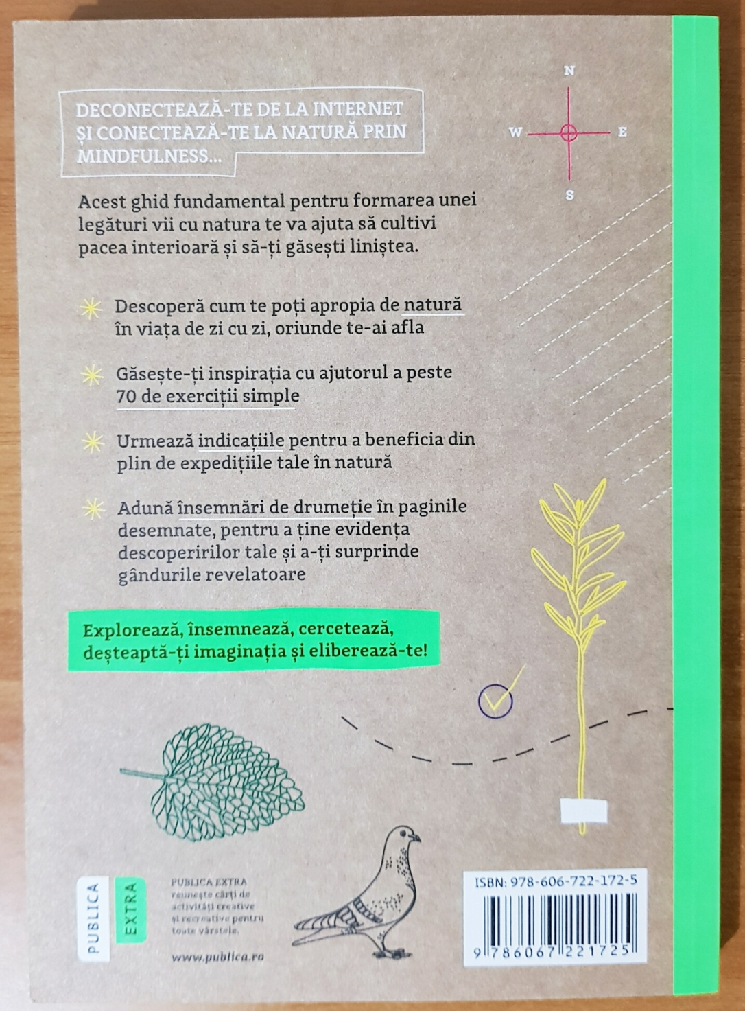 În natură. Cum să te deconectezi și să te regăsești prin mindfulness - Alexandra Frey și Autumn Totton - Recenzie