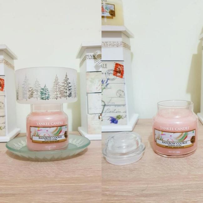 Yankee candle yankeeland rainbow cookie lumanare parfumata small jar