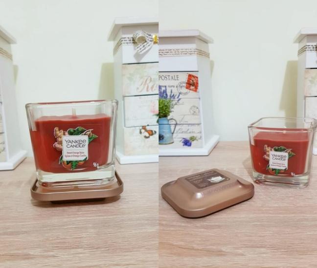 Elevation Sweet Orange Spice yankeeland Yankee Candle