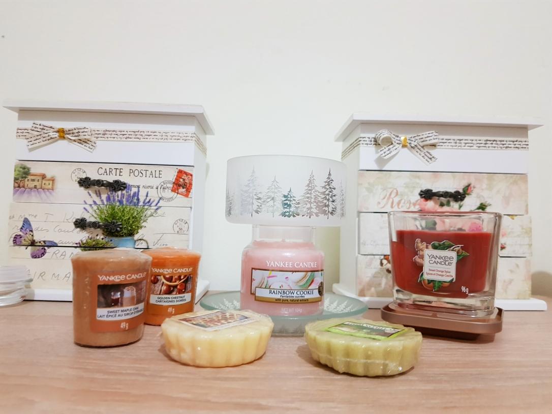 Yankee candle lumânări parfumate sweet orange spice rainbow cookie votive tarta parfumata
