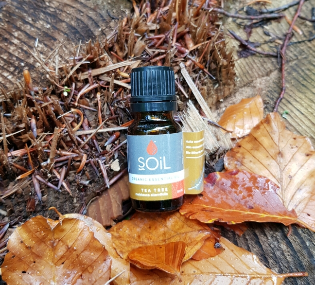SOiL - Uleiuri esențiale, organice, pentru aromaterapie, masaj și relaxare  tea tree