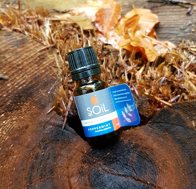 SOiL - Uleiuri esențiale, organice, pentru aromaterapie, masaj și relaxare menta