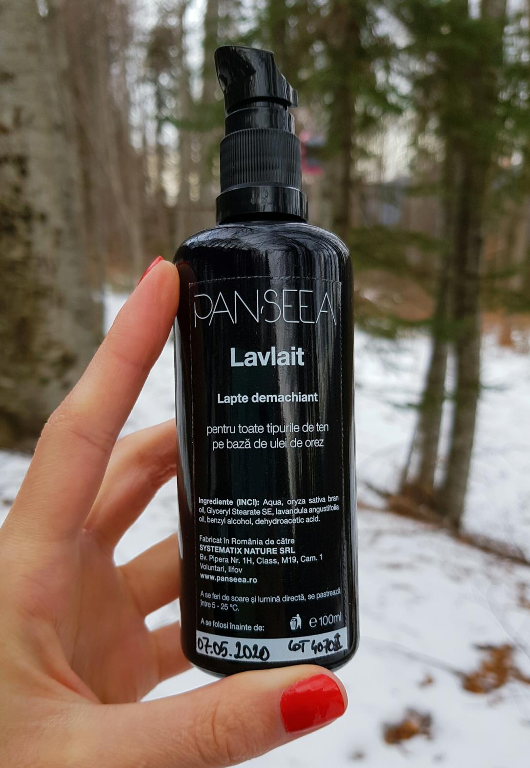 Demachiant vegan, cleanser, Panseea, Lavlait, cruelty-free