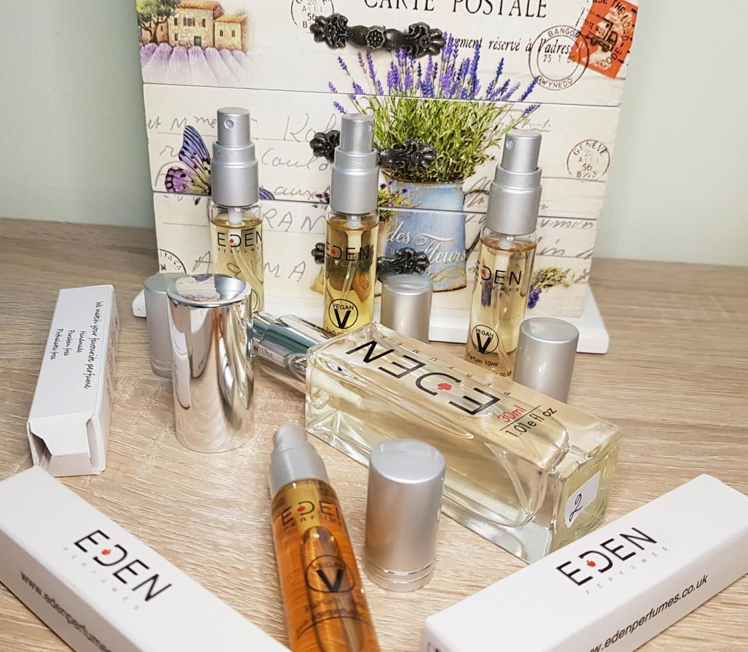 EDEN Perfumes variante etice, parfumuri vegane și cruelty-free, alternative vegane ale parfumurilor celebre Paco Rabbane Lancome Armani Guerlain