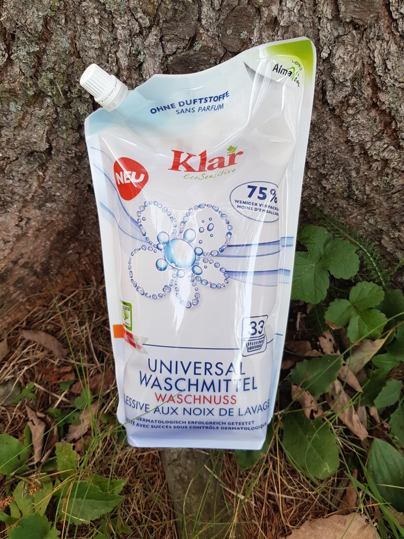 Klar detergent lichid nuci de săpun vegan și cruelty-free fără parfum