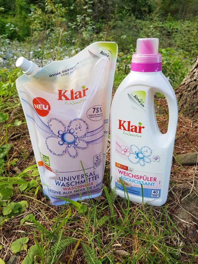 Klar detergent lichid fără parfum vegan și cruelty-free
