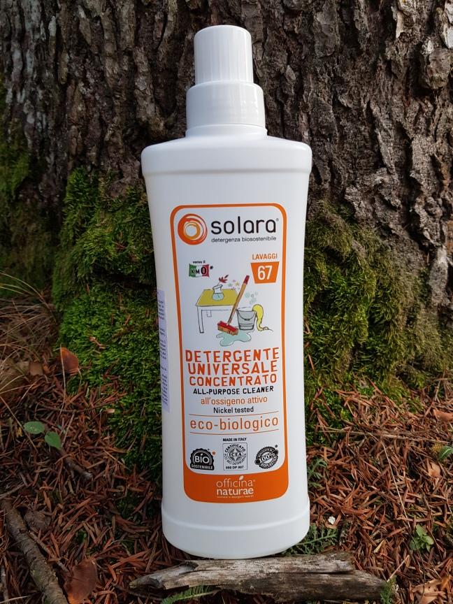 Detergent universal super concentrat Solara Officina Naturae bio vegan cruelty-free