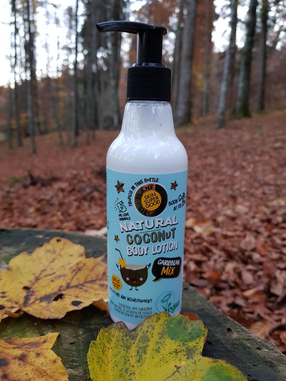 Planeta Organica geluri de duș loțiuni de corp scruburi exfoliante vegan cruelty-free cocos Caribbean Mix