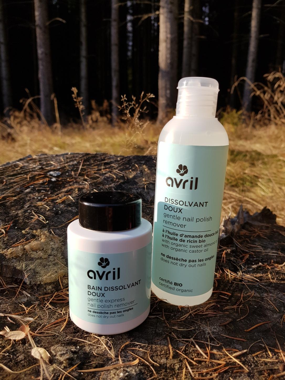 Dizolvant instant pentru lacul de unghii Avril vegan cruelty-free dizolvant fără acetonă